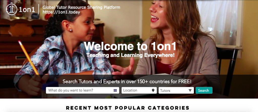 online tutor sharing platform