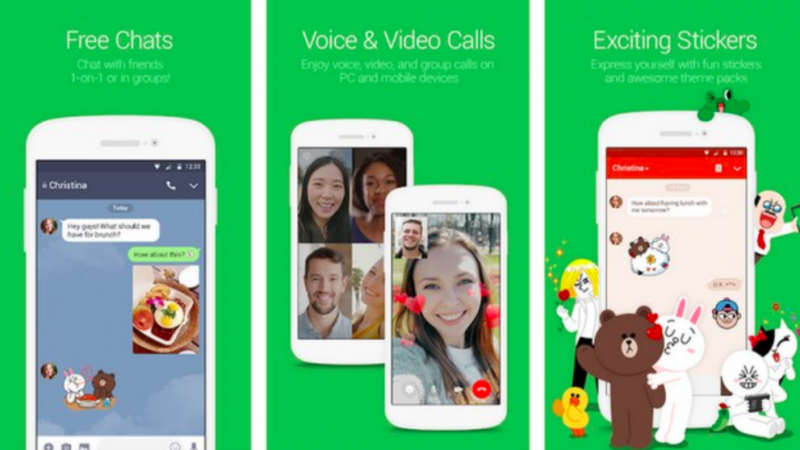 Line-video-chat