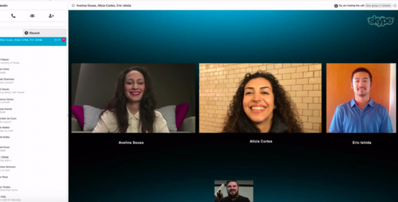 Skype-video-chat