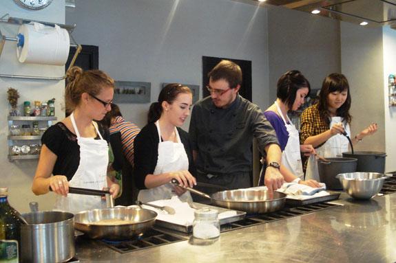 烹飪課-做料理