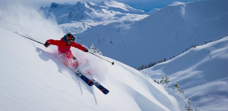 黑梳山-滑雪場