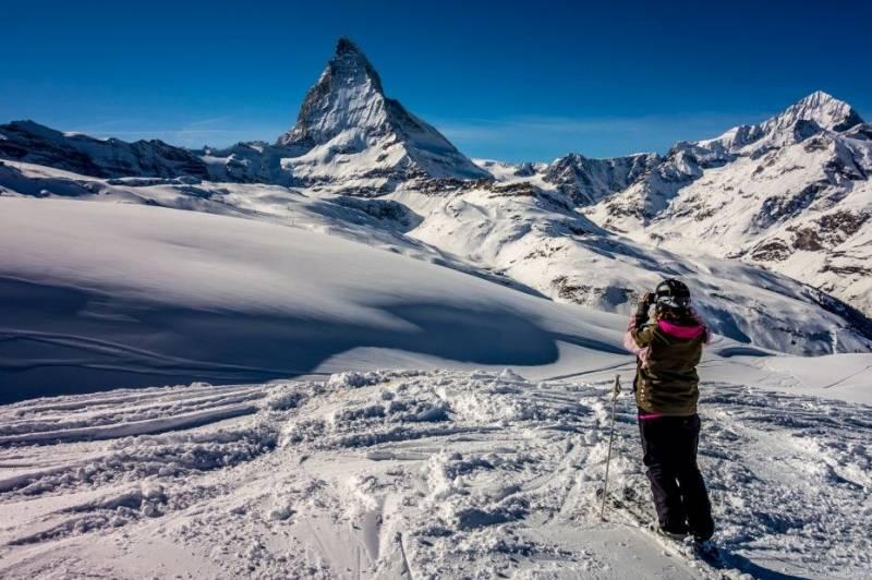 馬特洪峰滑雪天堂
