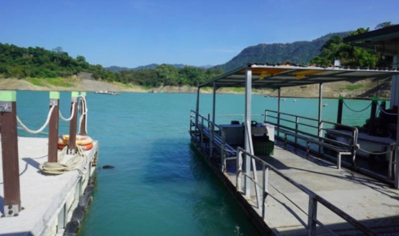 曾文水庫-釣魚平台