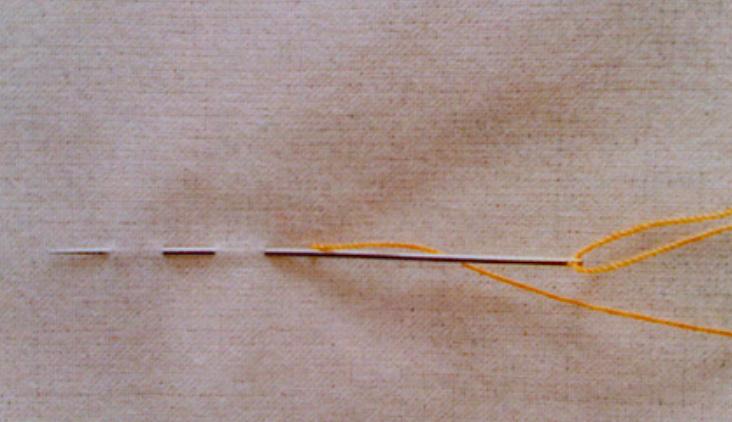 縫紉方法-平針法