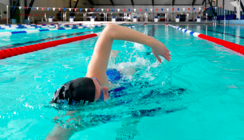 自由式練習-訓練-步驟-捷泳