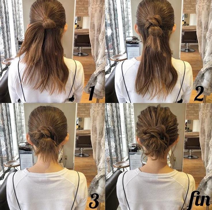 編髮造型-教學-步驟