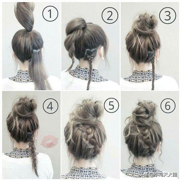 編髮造型-包頭-高馬尾