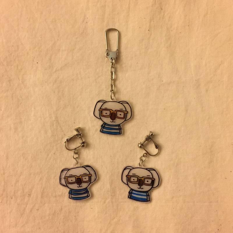 熱縮片-吊飾-耳環