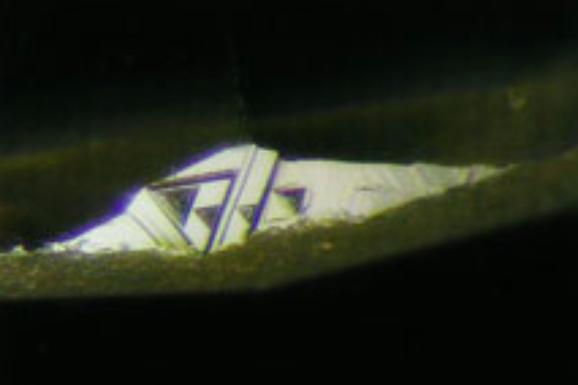 鑽石-生成紋-生長紋