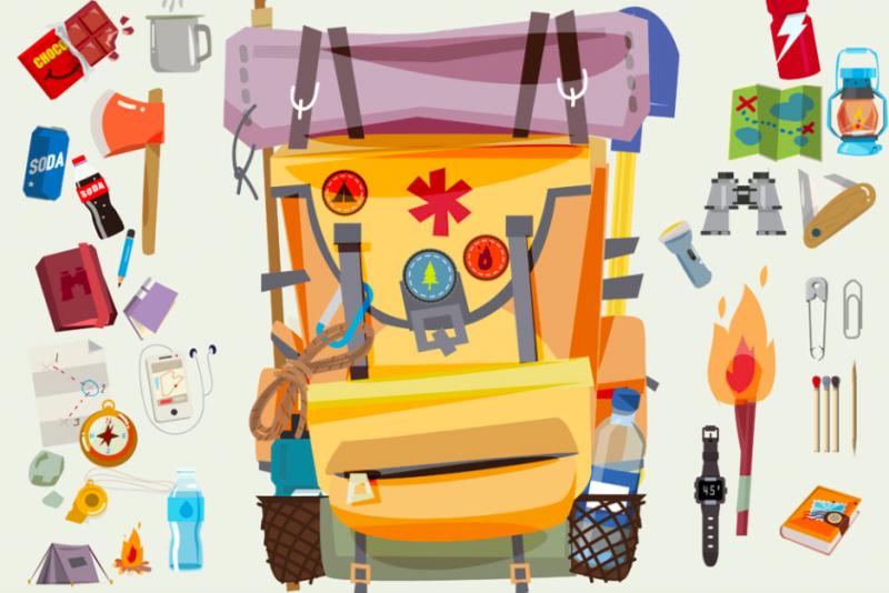 登山包-登山-物品-裝備
