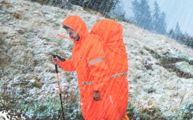 登山-雨衣-保暖-失溫
