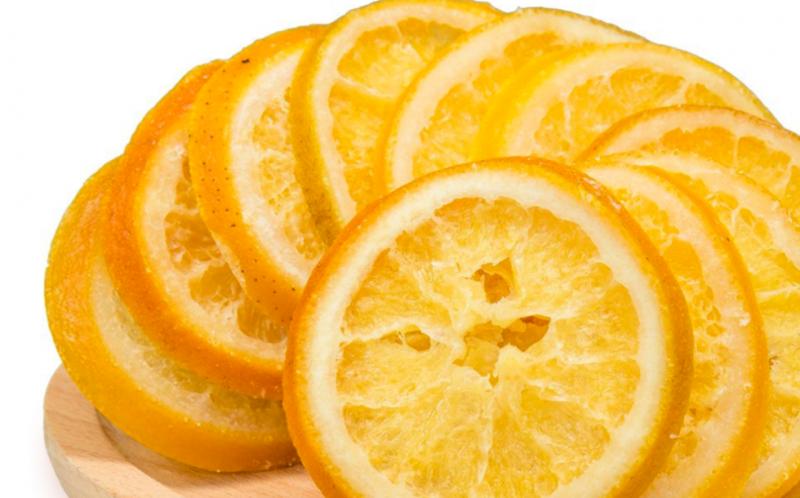 柳橙片-成品-果乾-製作-步驟