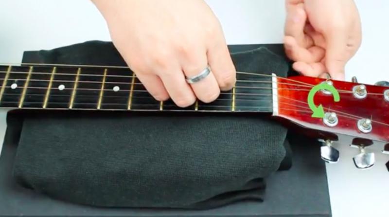 吉他弦-更換-教學