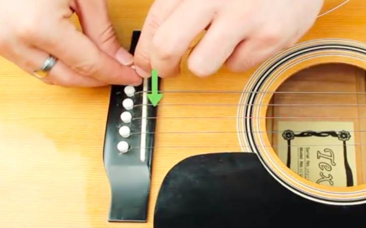 吉他-插銷-換弦-方法-教學-步驟