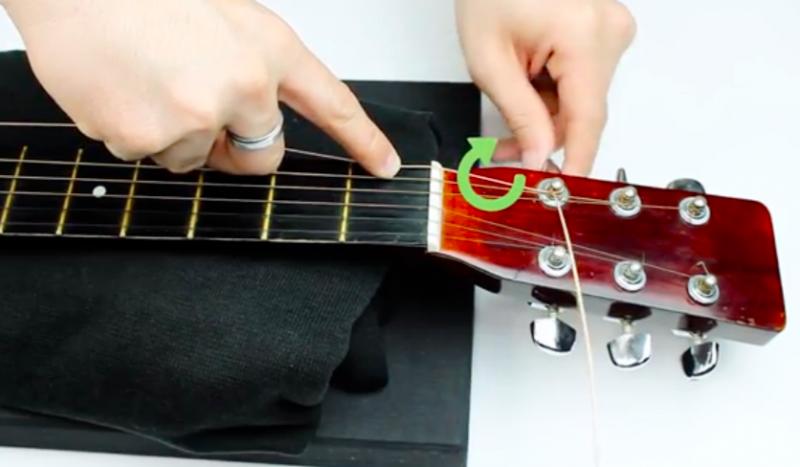 吉他換弦-方法-介紹-教學-步驟
