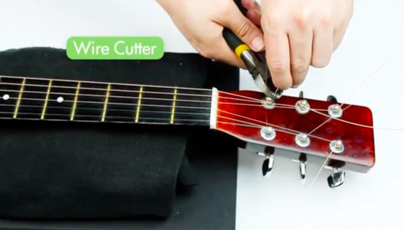 吉他-換弦-步驟