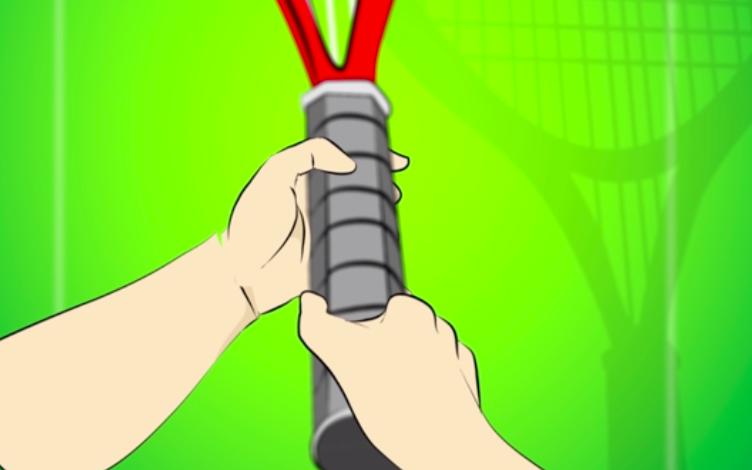 雙手握拍-網球-網球拍-教學