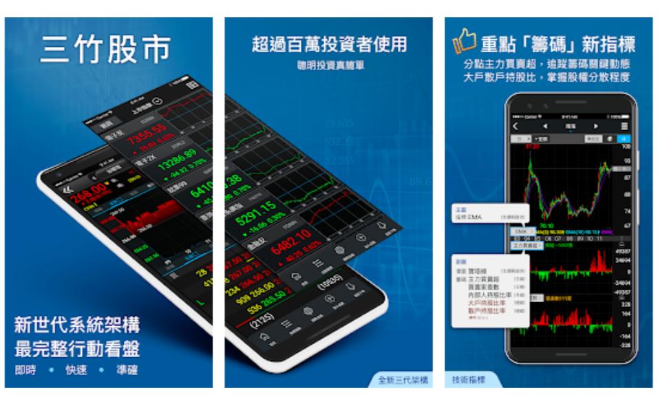 三竹股市-看盤APP-看盤軟體