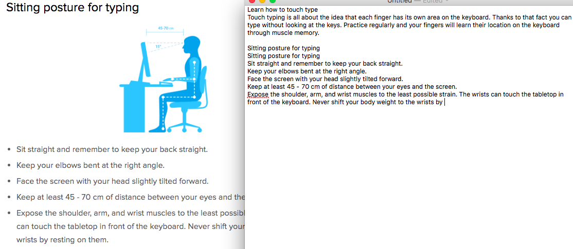 練習打字-方法-看文章-跟打