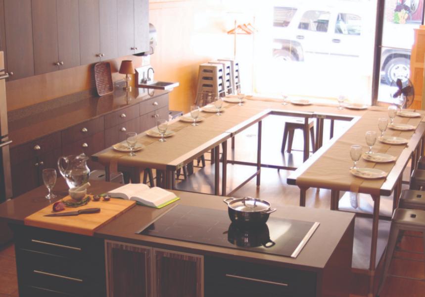 共享廚房-烹飪教室-推廣