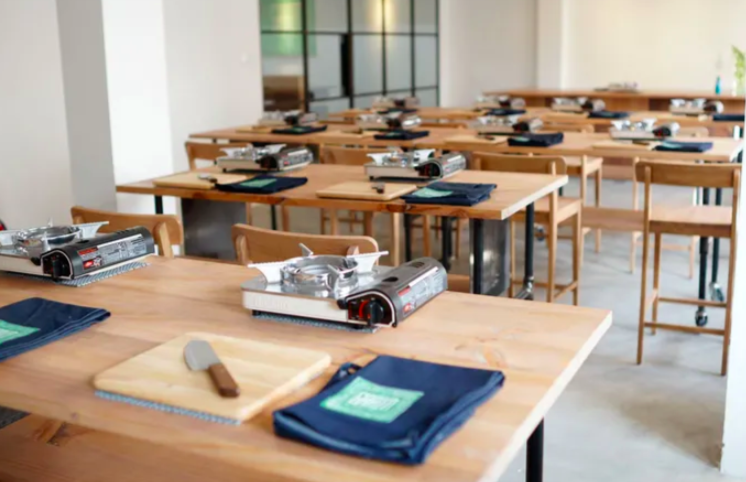 行銷-推廣-共享廚房-烹飪課程-教室-空間-私廚