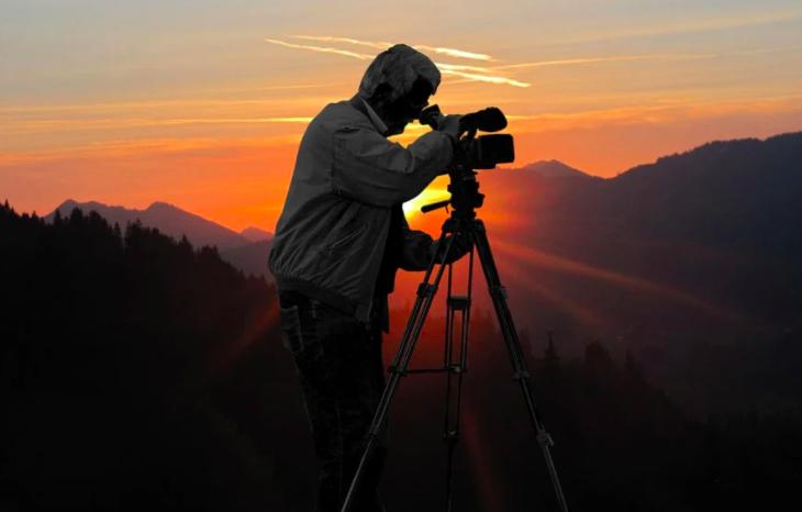 攝影師-攝影-技巧-光影-山景-日落