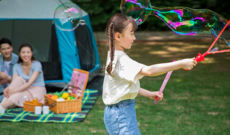 自製-泡泡水-玩泡泡-工具-小朋友-家人
